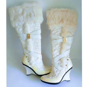 BABY PHAT Fat Faux Fur Women's Boots